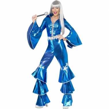 Abba carnavalskleding blauw online