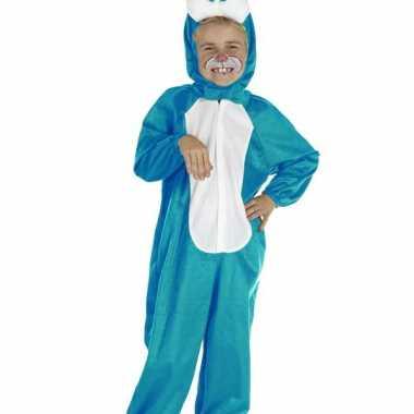 Baby paashaas carnavalskleding blauw online