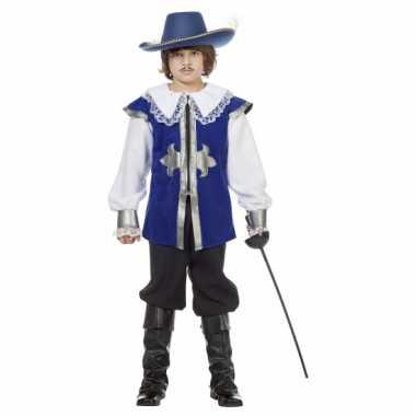 Blauw musketiers carnavalskleding baby online