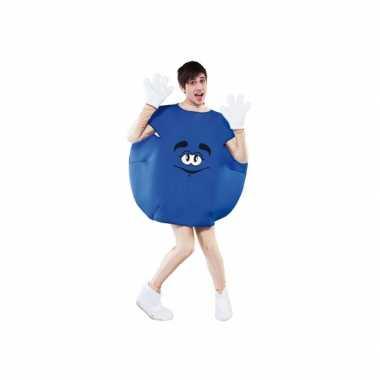 Blauw snoep carnavalskleding volwassenen online
