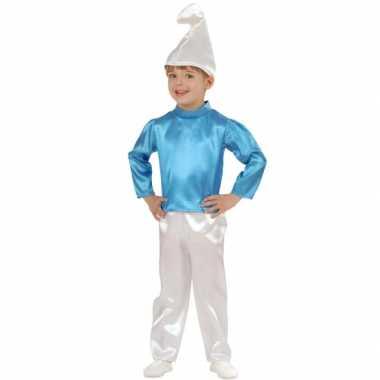 Blauwe dwerg carnavalskleding baby online