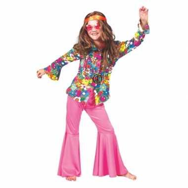 Carnavalskleding baby hippie blouse bloemen online