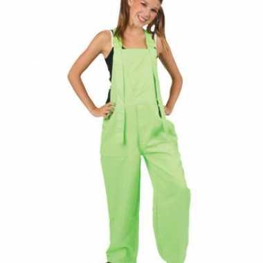 Carnavalskleding baby tuinbroek neon groen online