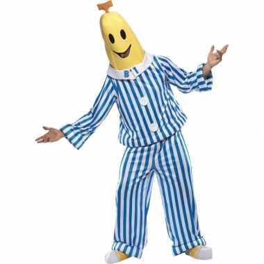Carnavalskleding bananenpak pyjama volwassenen online