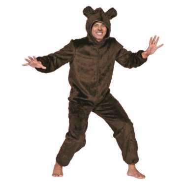 Carnavalskleding berenpak volwassenen bruin online