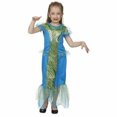 Carnavalskleding blauw zeemeermin pak kind online