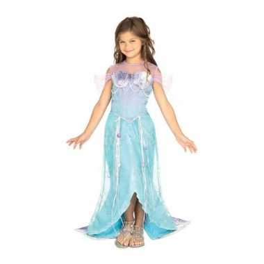 Carnavalskleding blauw zeemeermin prinses jurkje meiden online