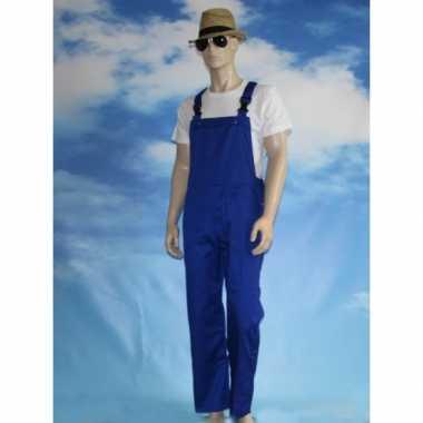 Carnavalskleding blauwe baby tuinbroek online