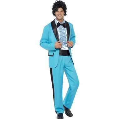 Carnavalskleding blauwe colbert broek heren online