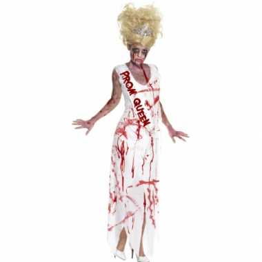 Carnavalskleding bloederige prom queen jurk online