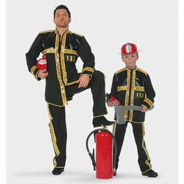 Carnavalskleding brandweerpak baby online