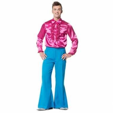 Carnavalskleding broek blauw wijd uitlopend heren online
