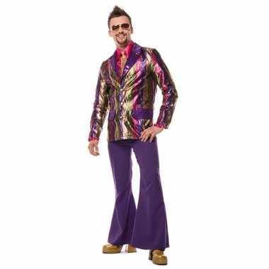 Carnavalskleding broek paars wijd uitlopend heren online