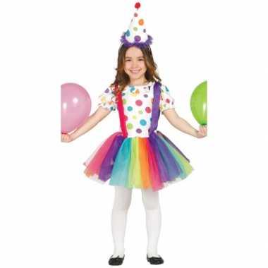 Carnavalskleding clown jurk meisjes online
