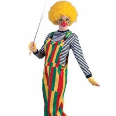Carnavalskleding clown tuinbroek online