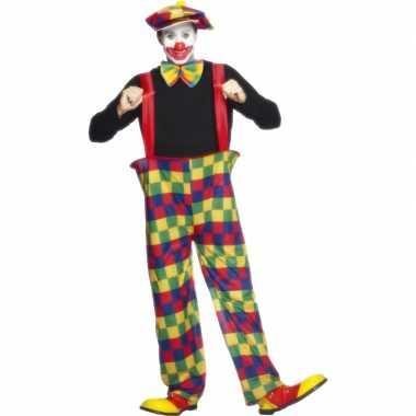 Carnavalskleding clownpak heren online