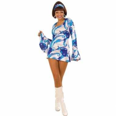 Carnavalskleding dames jurk jaren blauw online