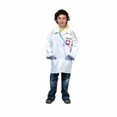 Carnavalskleding doktersjas kind stethoscoop online