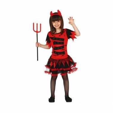 Carnavalskleding duivel jurkje meisjes online