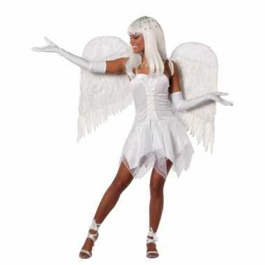 Carnavalskleding engel jurkje wit dames online