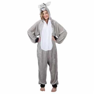 Carnavalskleding ezel onesie online