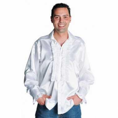 Carnavalskleding feest blouse heren wit online