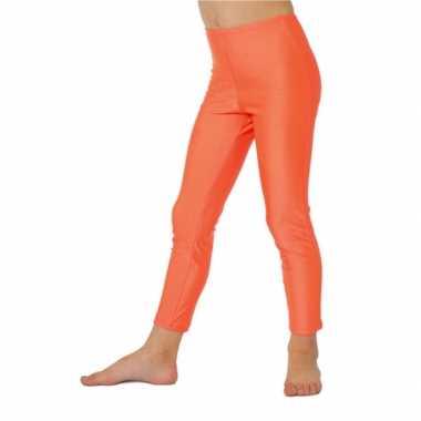 Carnavalskleding fel oranje baby legging online