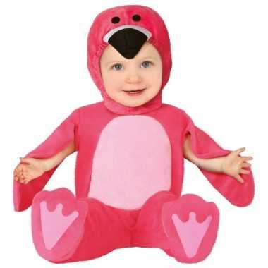 Carnavalskleding flamingo verkleed /onesie babys/baby online