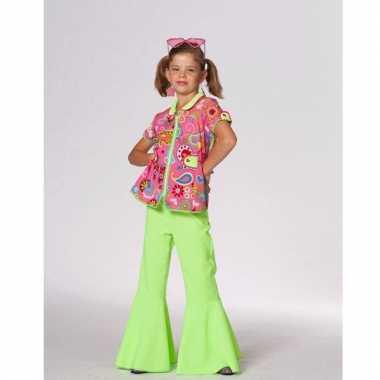Carnavalskleding flower power blouse baby online