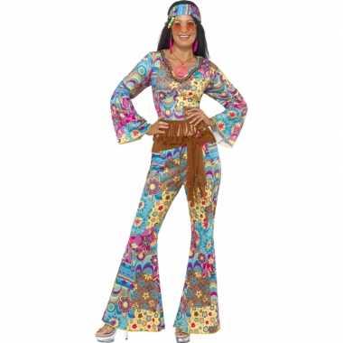 Carnavalskleding flower power pak dames online