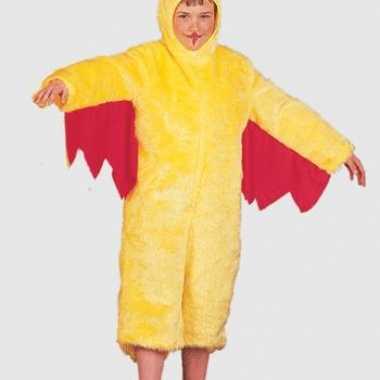 Carnavalskleding geel kippenpak baby online