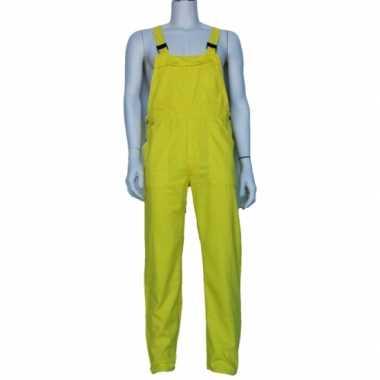 Carnavalskleding gele baby tuinbroek online