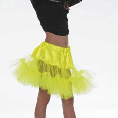 Carnavalskleding gele tule rokje meiden online