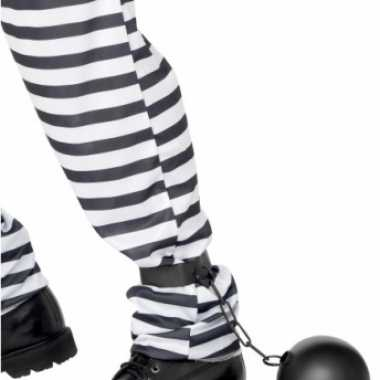Carnavalskleding gevangene bal ketting online