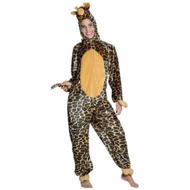 Carnavalskleding giraffe onesie dierenpak kind online