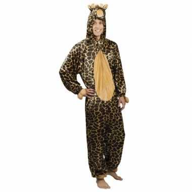 Carnavalskleding giraffe onesie dierenpak online 10078543