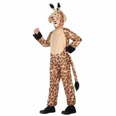 Carnavalskleding giraffe onesie verkleedset baby online
