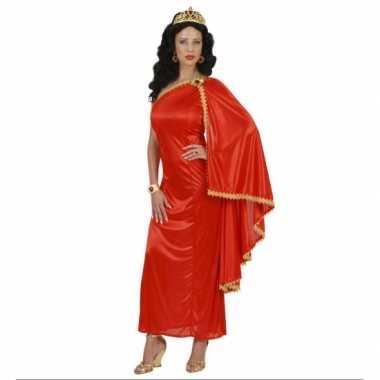 Carnavalskleding griekse romeinse jurk rood online