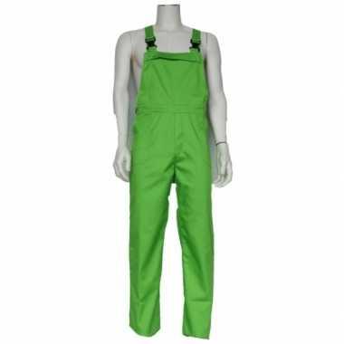 Carnavalskleding groene baby tuinbroek online