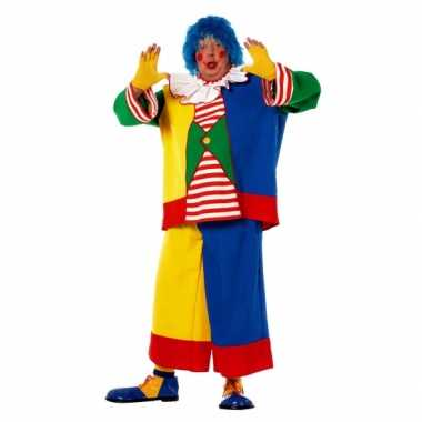 Carnavalskleding grote maat clownpak volwassenen online
