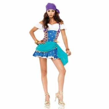 Carnavalskleding gypsy princess jurkje dames online