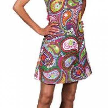 Carnavalskleding halter bloemen jurk dames online