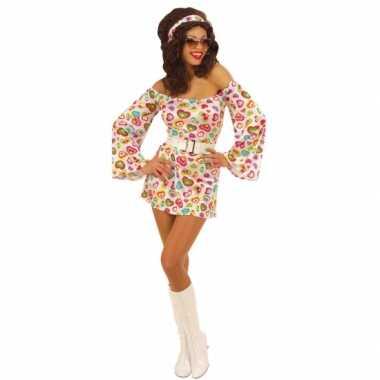 Carnavalskleding hartjes jurkje dames online