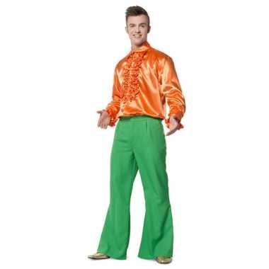 Carnavalskleding heren broek groen wijd uitlopend online