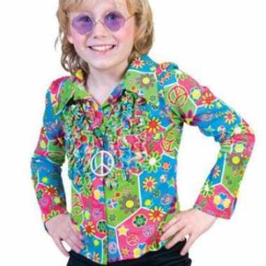 Carnavalskleding hippie blouse kids online