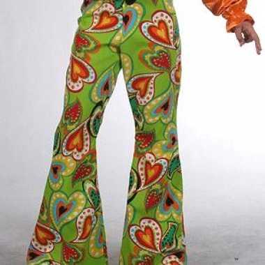 Carnavalskleding hippie broeken baby hartjes online