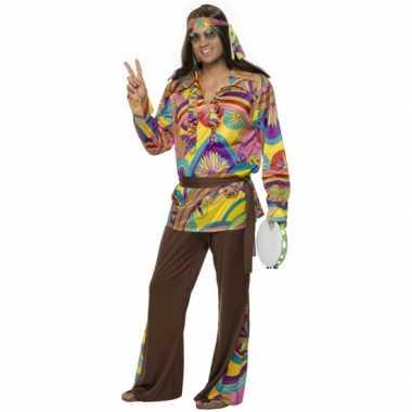 Carnavalskleding hippie pak heren online