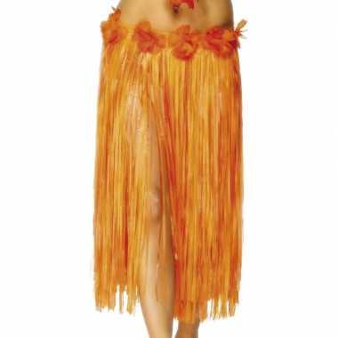 Carnavalskleding hoela rokje oranje online
