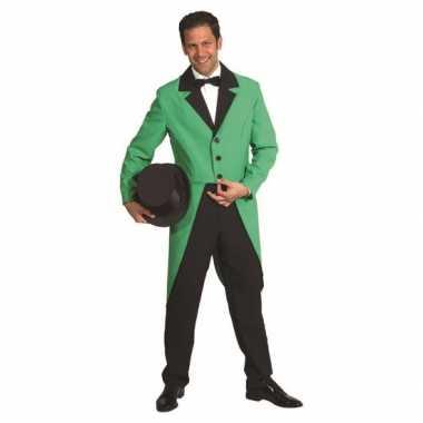 Carnavalskleding jas groen online