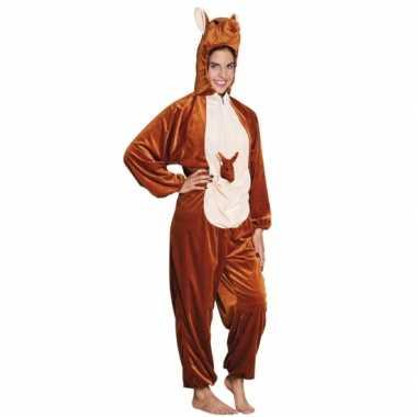 Carnavalskleding kangoeroe onesie dierenpak kind online